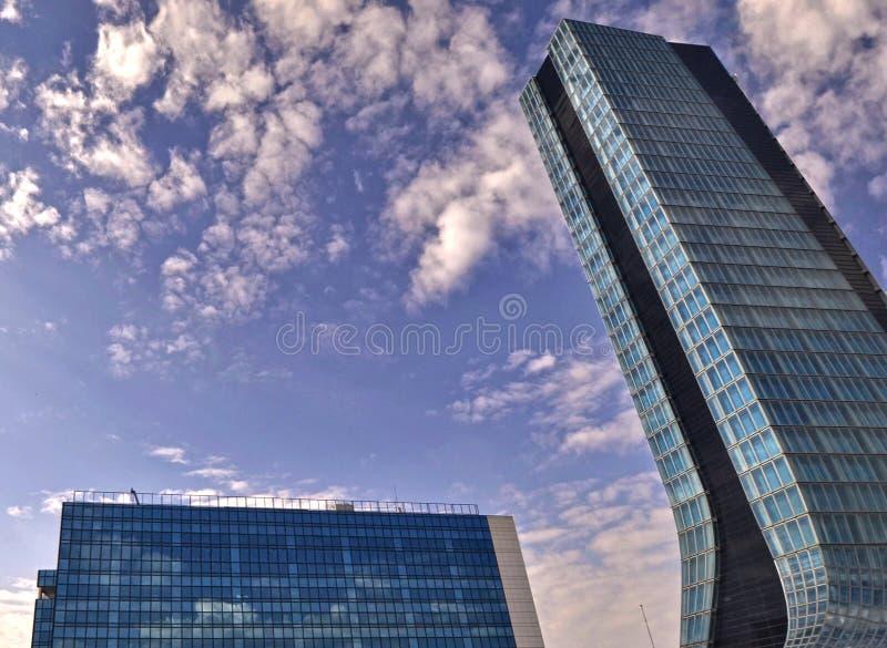 De gebouwen van Marseille stock foto's