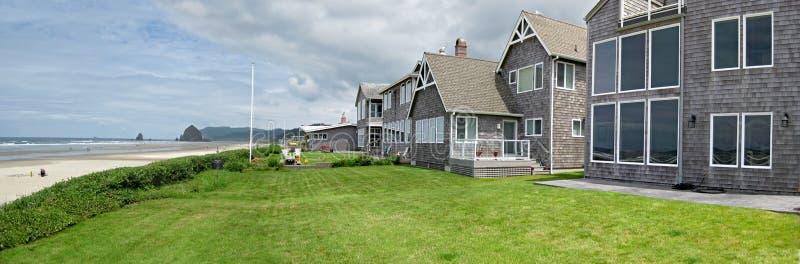 De gebouwen van Oceanfront royalty-vrije stock fotografie