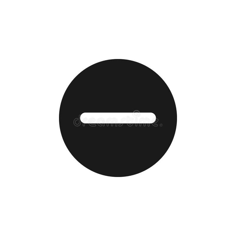 de gebruiker schrapt annuleert pictogram De tekens en de symbolen kunnen voor Web, embleem, mobiele toepassing, UI, UX worden geb vector illustratie