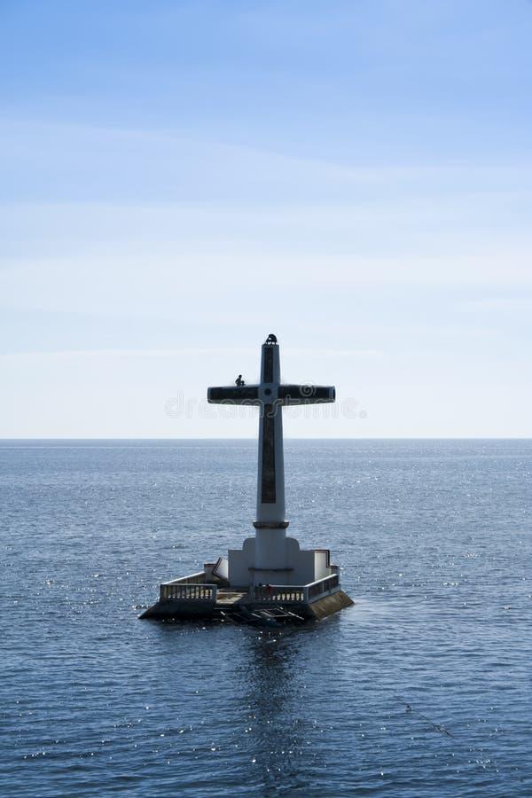 De gedaalde begraafplaats Filippijnen van Camiguin eiland stock fotografie
