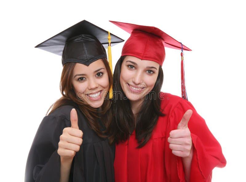 De gediplomeerde Vrienden van Vrouwen stock foto's