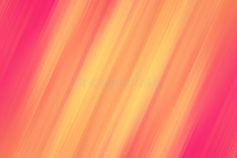 De geel-rode achtergrond van de kleuren abstracte motie Gebruik als textuur en achtergrond vector illustratie