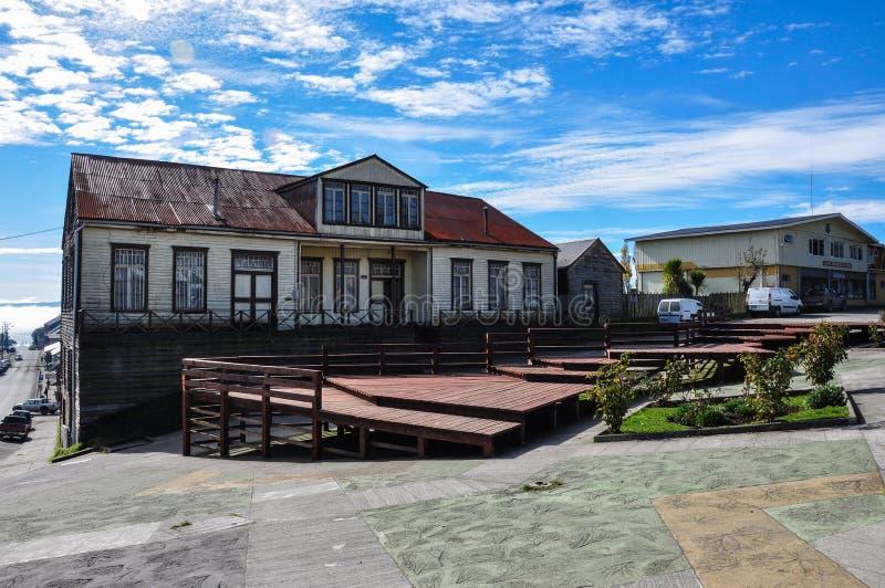 De geest van Chiloé en uniciteit, Chiloé Eiland, Chili royalty-vrije stock foto