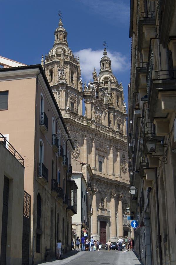 De geestelijkheid (La Clerecia). Salamanca, Spanje royalty-vrije stock foto's