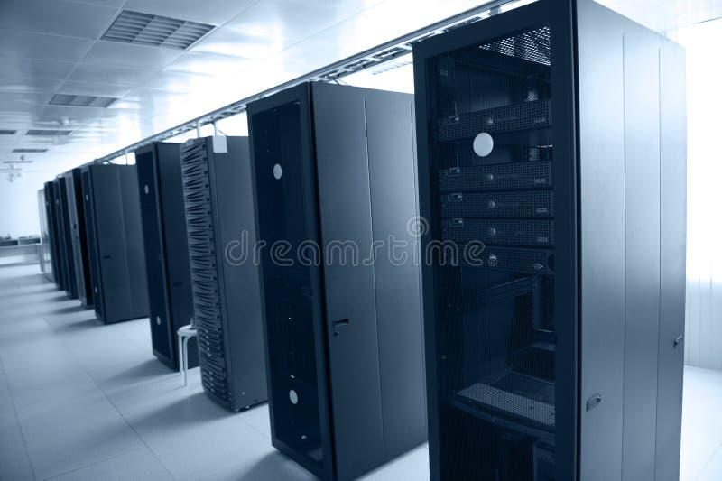 De gegevenscentrum van Internet