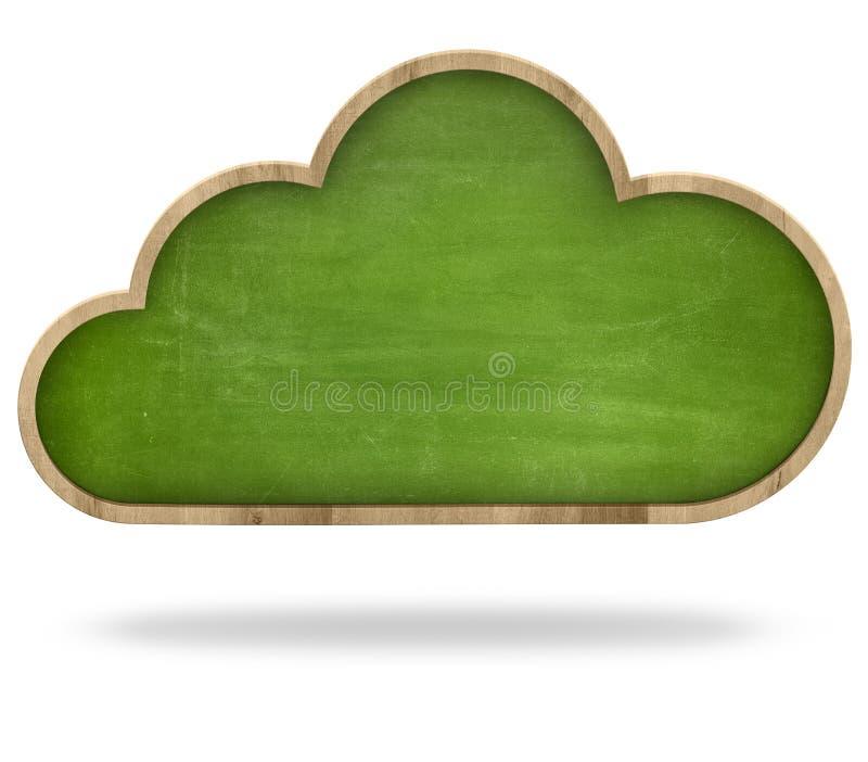 Download De Gegevensverwerkingsconcept Van De Wolk Stock Afbeelding - Afbeelding bestaande uit achtergrond, leeg: 54083757