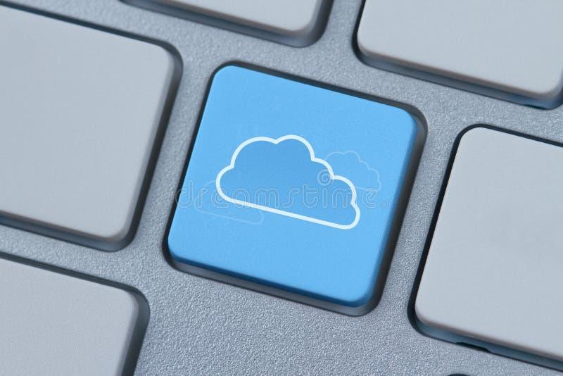 De gegevensverwerkingssymbool van de wolk royalty-vrije stock afbeelding