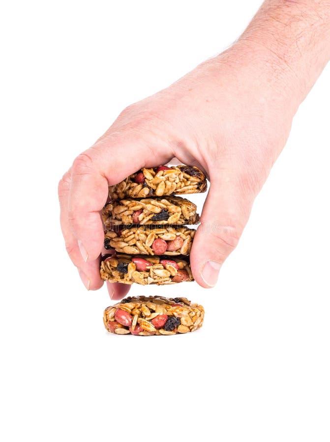 De geglaceerde geroosterde zaden van de pinda'szonnebloem stock fotografie