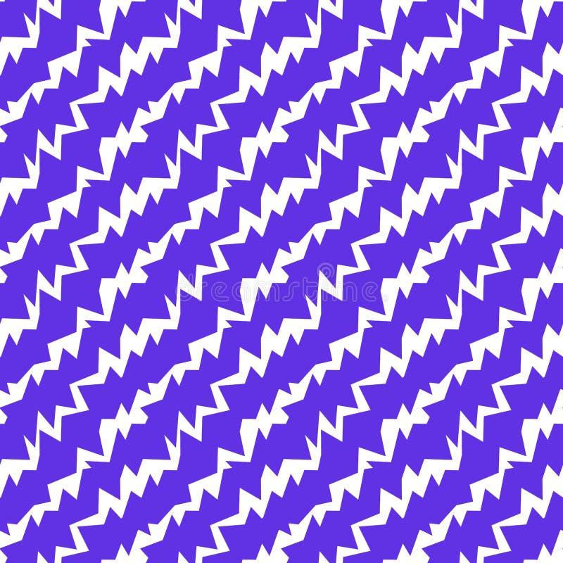 De gekke Naadloze Textuur van Boutstralen stock illustratie