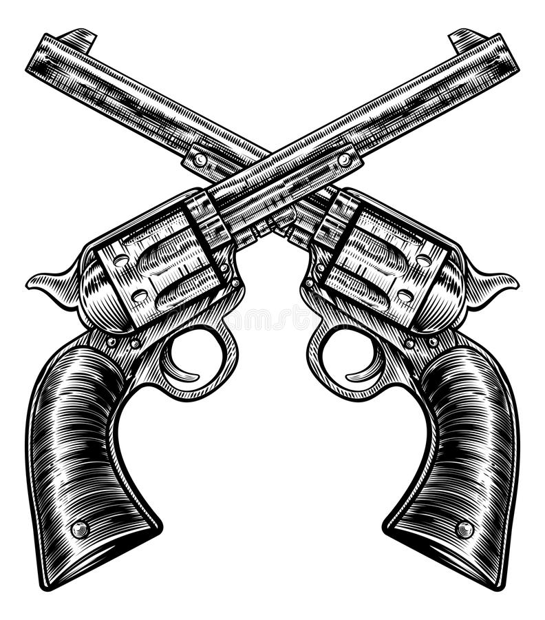 Kids Six Shooter Art