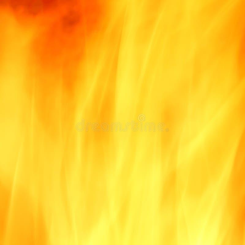 De gele abstracte achtergrond van de brand stock foto's