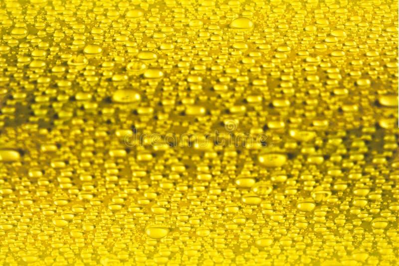 De gele Achtergrond van Dalingen stock illustratie
