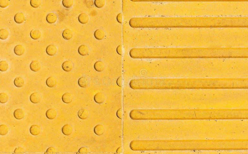 De gele cirkels van textuurlijnen schuren heldere achtergrond royalty-vrije stock fotografie