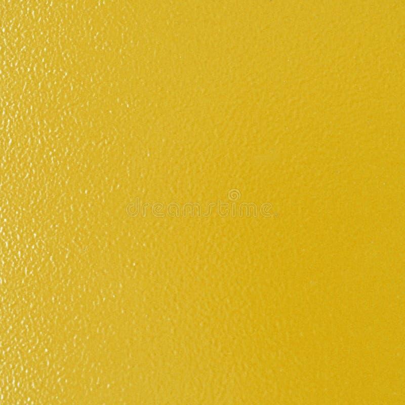 de gele gouden achtergrond van de metaaltextuur stock foto's