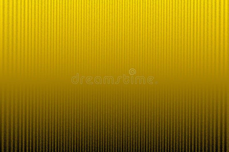 De gele kleur stelde lineaire achtergrond in de schaduw stock foto