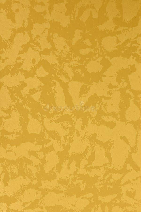 De gele textuur van de ontwerpverf vector illustratie