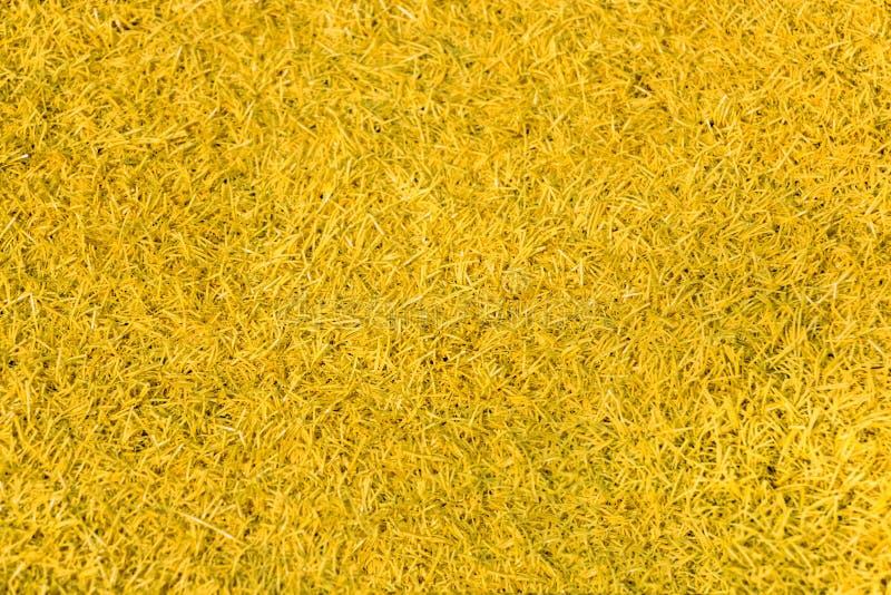 De gele Textuur van de Tapijtoppervlakte voor Achtergrond stock fotografie