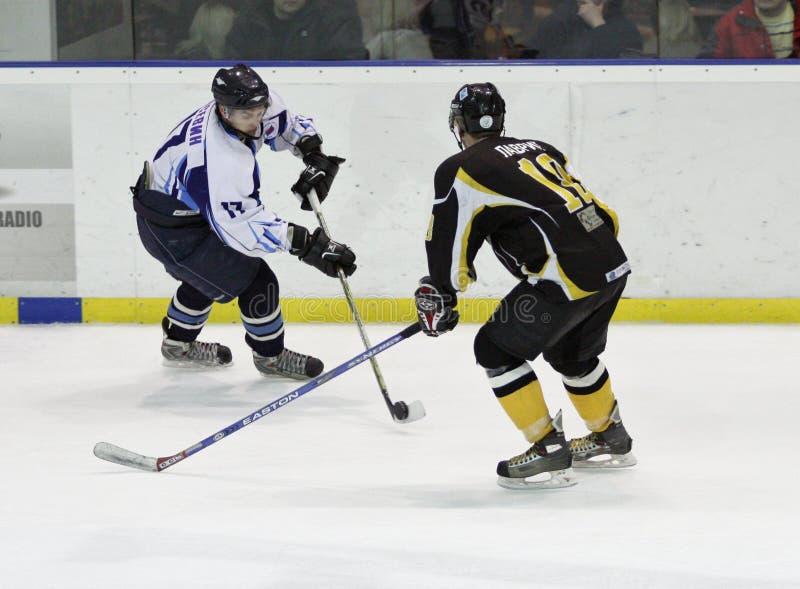 De gelijke van het ijshockey stock foto's