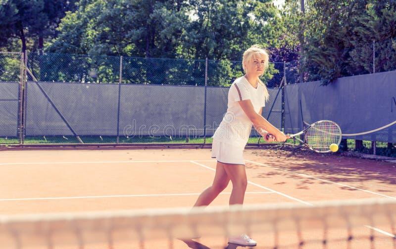 De Gelijke van het tennis royalty-vrije stock foto
