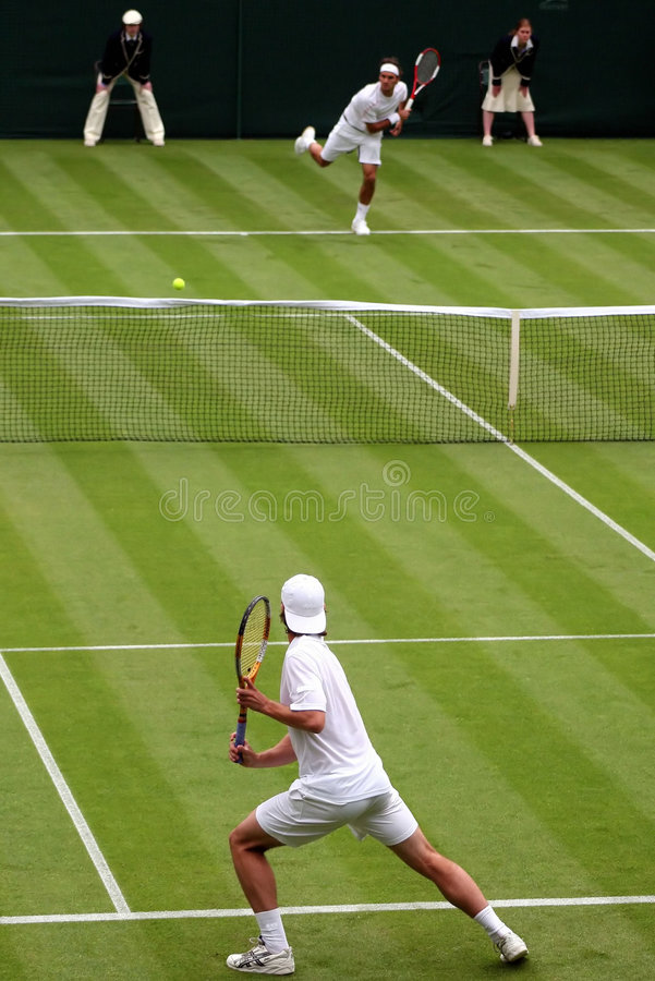 De Gelijke van het tennis stock foto's