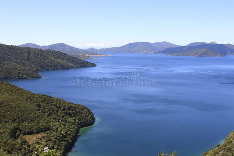 De Geluiden van Marlborough in Nieuw Zeeland stock afbeelding
