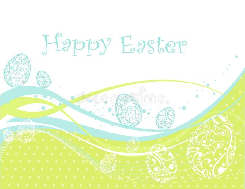 De gelukkige achtergrond van Pasen