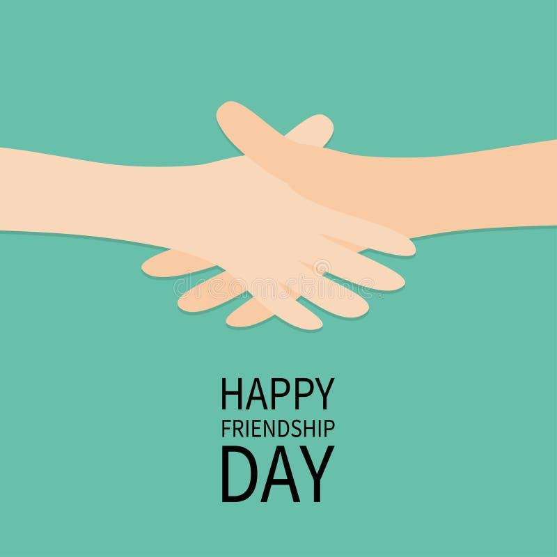 De gelukkige Dag van de Vriendschap Dit is dossier van EPS10-formaat stock illustratie