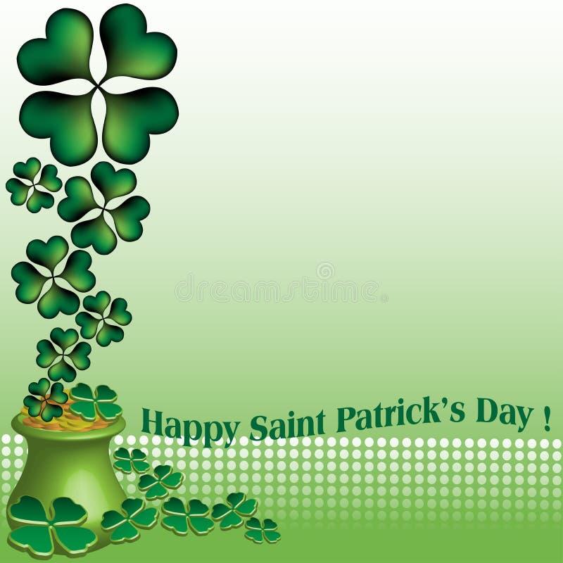 De gelukkige Dag van Heilige Patrick vector illustratie