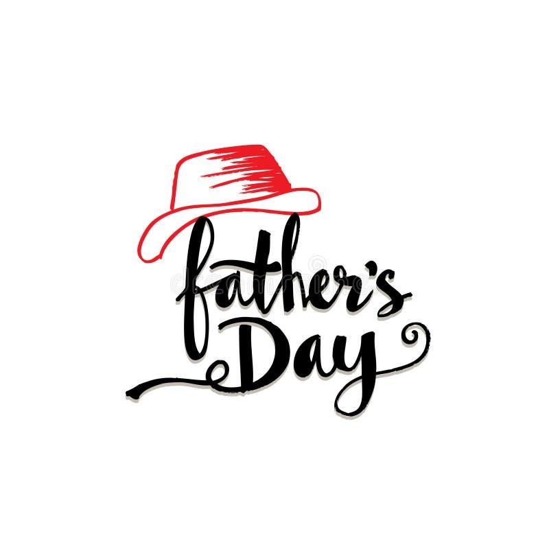 De gelukkige Dag van Vaders stock illustratie