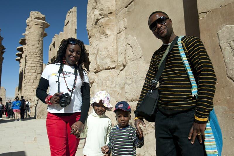 De gelukkige familie van Kenia royalty-vrije stock afbeelding