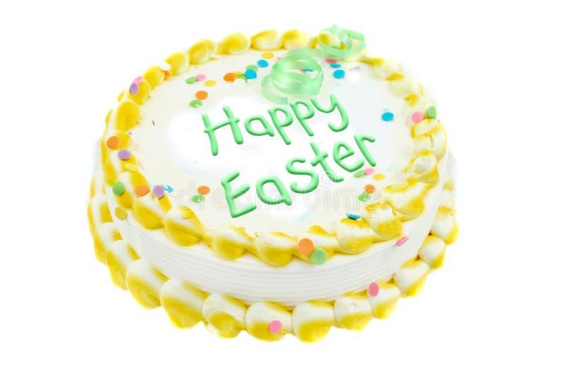 De gelukkige feestelijke cake van Pasen royalty-vrije stock foto