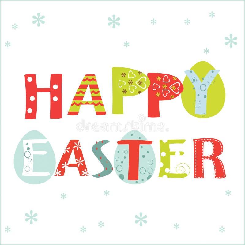 De gelukkige Kaart van Pasen
