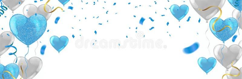 De gelukkige van het de typografieontwerp van de Verjaardagsviering dag van de het Gelukgeboorte aan u embleem, kaart, banner royalty-vrije illustratie