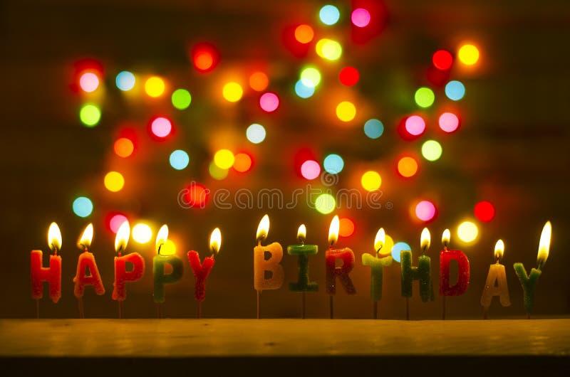 De gelukkige Viering van de Verjaardag royalty-vrije stock fotografie