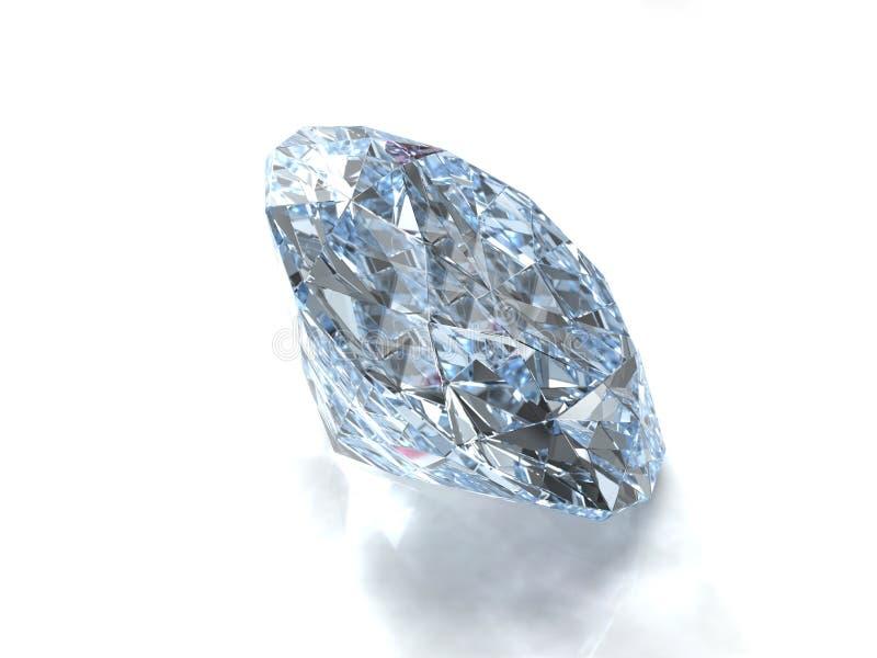 De gem van de diamant royalty-vrije stock afbeelding
