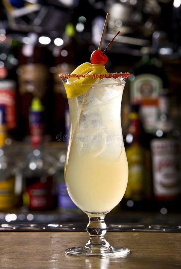 De gember een cocktail is zoet stock afbeelding