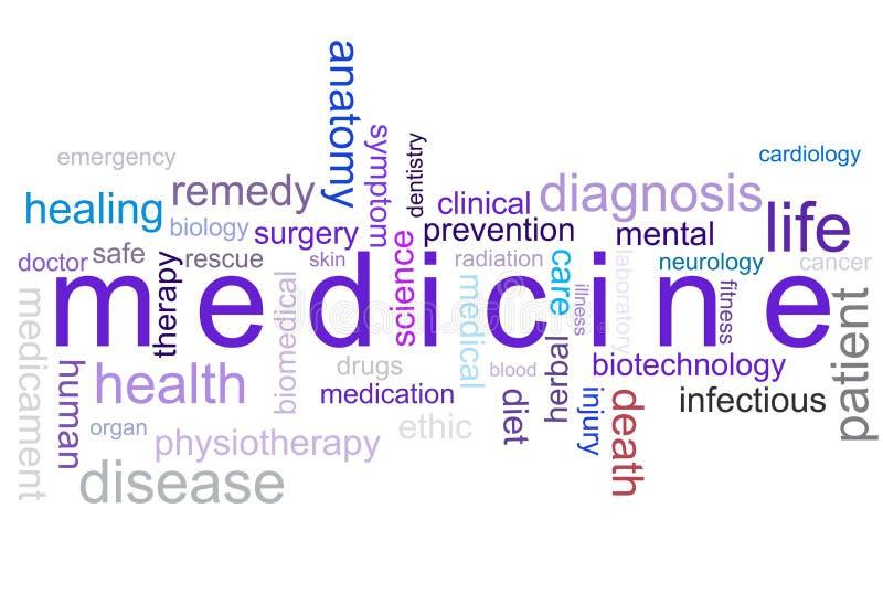 De geneeskunde van de illustratie royalty-vrije stock afbeelding