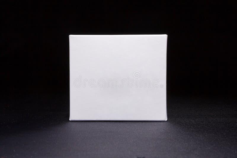 De geneeskunde van de leeg middelgrootte van Witboek verpakkend vakje stock foto