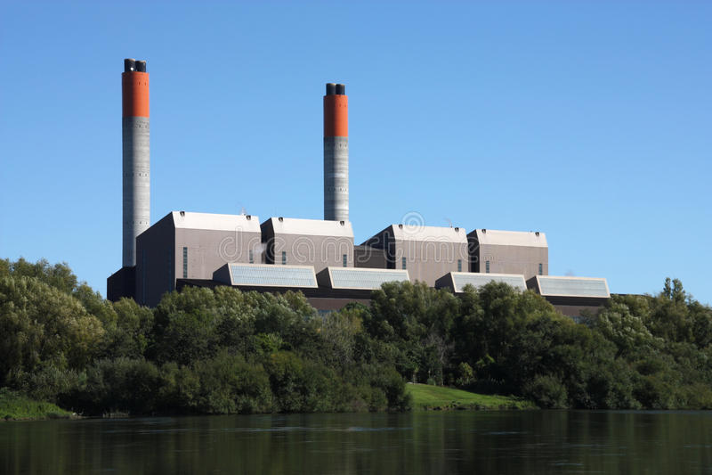 De generatie van de energie stock fotografie