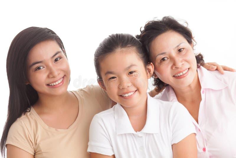 De generatie van de familie stock afbeelding