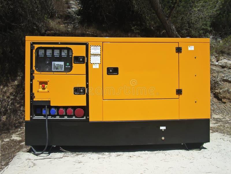De Generator van de elektriciteit stock afbeeldingen
