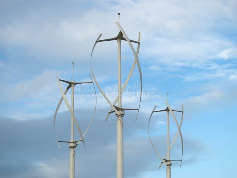 De Generator van de wind stock foto's