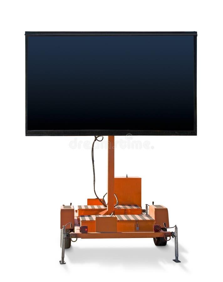 De Generator van het teken met het Lege Scherm stock afbeeldingen