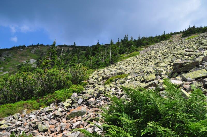 De geologieerosie royalty-vrije stock fotografie