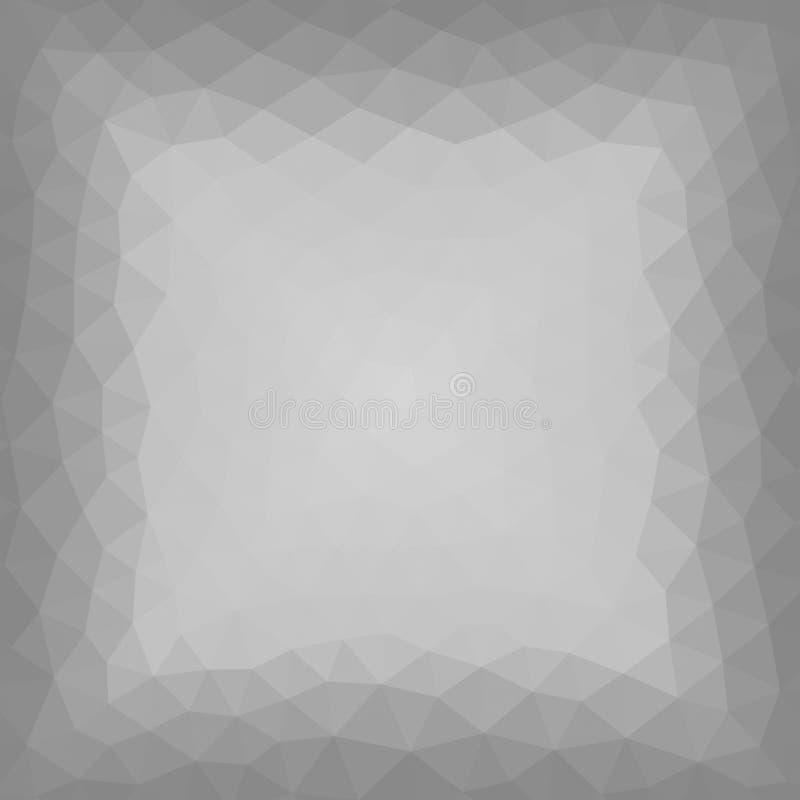 De geometrische achtergrond van het driehoeksmozaïek royalty-vrije illustratie