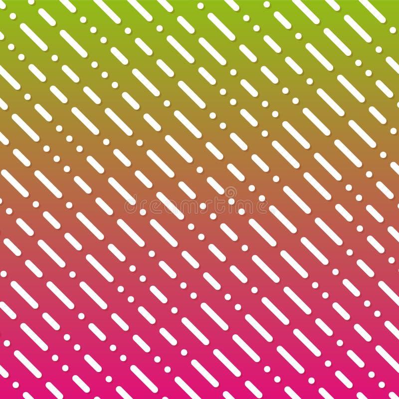 De geometrische Achtergrond van de Lijngradiënt Moderne Abstracte Patrooneps10 Vector royalty-vrije illustratie