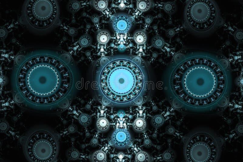 De geometrische patronen kunnen de psychedelische ruimtedromen van de dagdromenverbeelding en magisch heelal illustreren Mooie fr vector illustratie