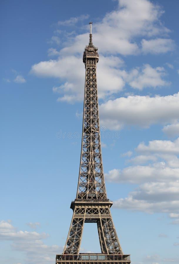 De geroepen Reis Eiffel van Eiffel Toren in Parijs Frankrijk royalty-vrije stock foto