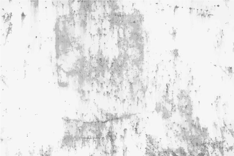 De geroeste achtergrond van het noodmetaal vector illustratie