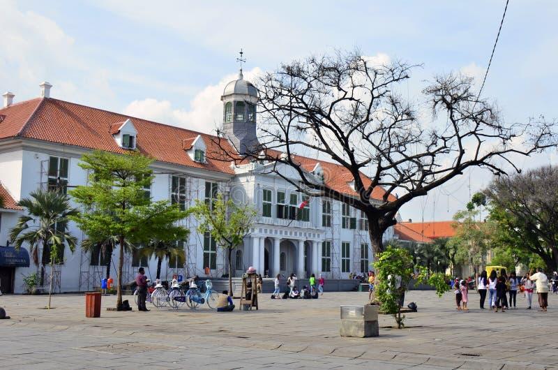 De Geschiedenismuseum van Djakarta royalty-vrije stock foto